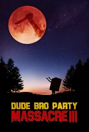 Dude Bro Party Massacre III poszter