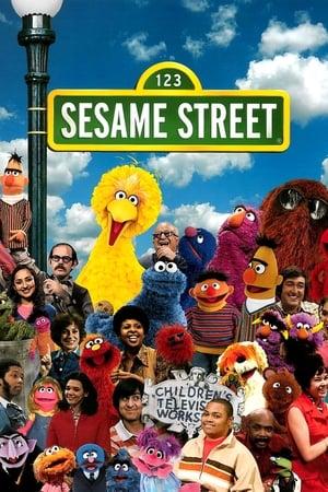 Szezám utca poszter