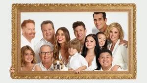 Modern család kép
