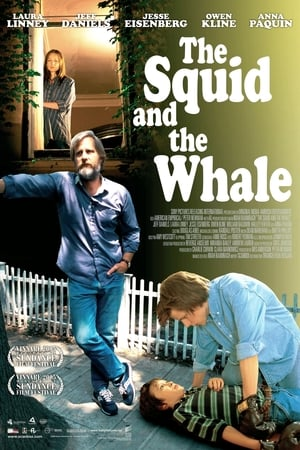 A tintahal és a bálna poszter