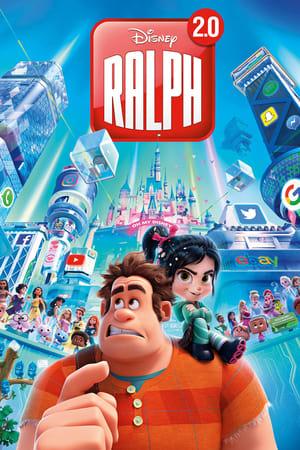 Ralph lezúzza a netet poszter