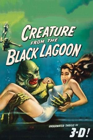 A fekete lagúna szörnye poszter
