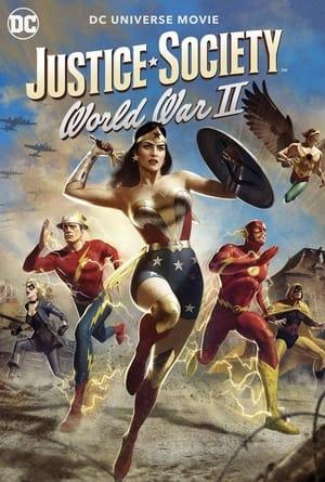 Igazság Szövetsége: Második Világháború poszter