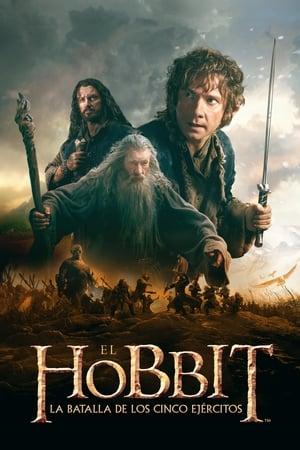A hobbit: Az öt sereg csatája poszter