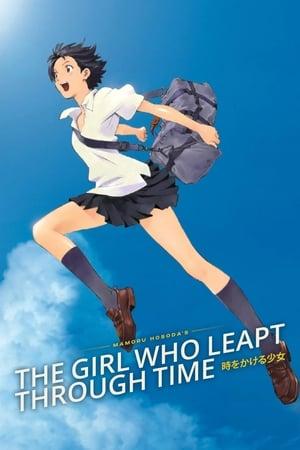 Az idő fölött járó lány poszter