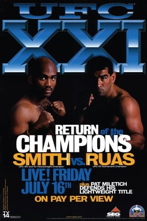 UFC 21: Return Of The Champions