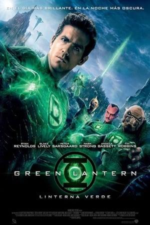 Zöld Lámpás poszter