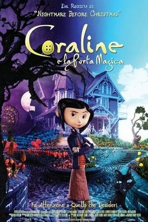 Coraline és a titkos ajtó poszter
