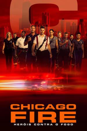 Lángoló Chicago poszter