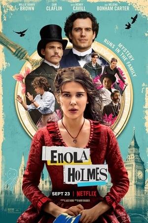 Enola Holmes poszter