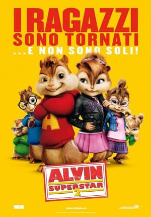 Alvin és a mókusok 2 poszter