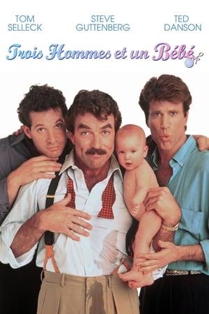Három férfi és egy bébi poszter