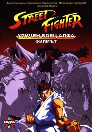 Street Fighter Alpha - A film poszter
