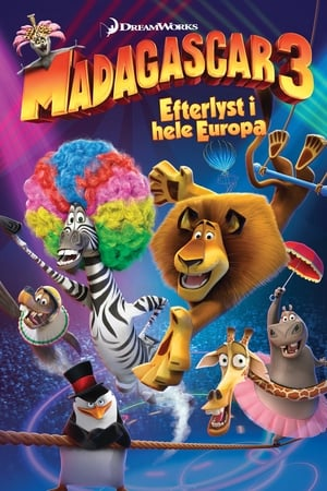 Madagaszkár 3. poszter