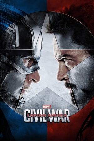 Amerika Kapitány: Polgárháború poszter