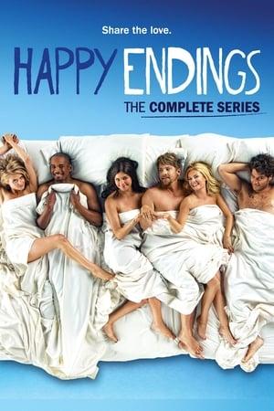 Happy Endings - Fuss el véle! poszter