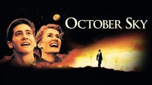 Októberi égbolt háttérkép