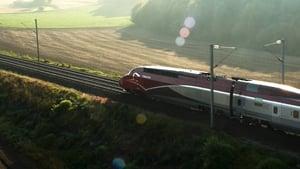A párizsi vonat háttérkép