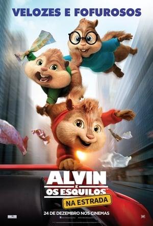 Alvin és a mókusok: A mókás menet poszter