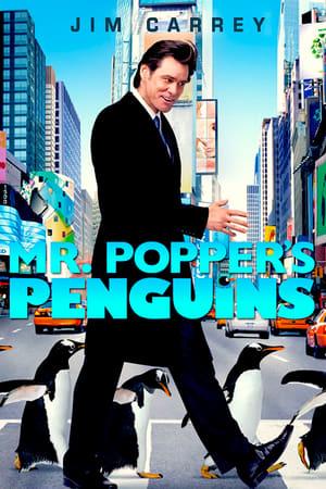 Mr. Popper pingvinjei poszter