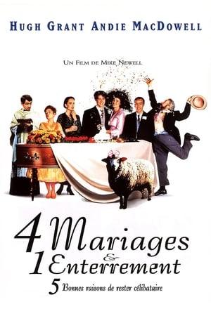 Négy esküvő és egy temetés poszter