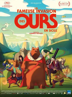 Medvevilág Szicíliában poszter