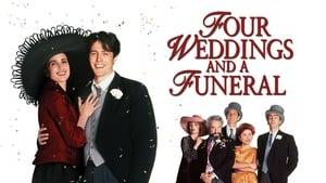 Négy esküvő és egy temetés háttérkép