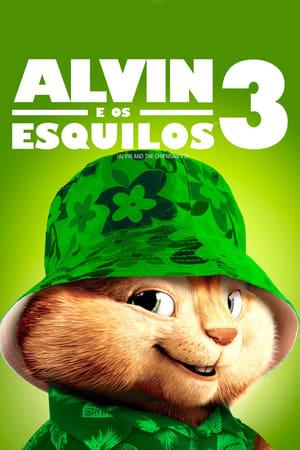 Alvin és a mókusok 3 poszter