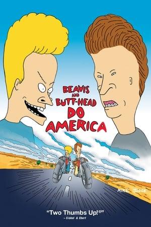 Beavis és Butt-Head lenyomja Amerikát poszter