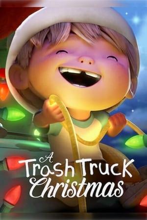A Trash Truck Christmas poszter