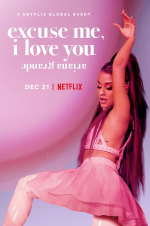 Ariana Grande: Elnézést, szeretlek poszter