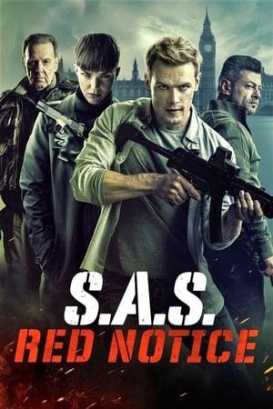 SAS: Vonatrablás a csatorna-alagútban poszter