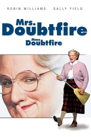 Mrs. Doubtfire - Apa csak egy van poszter