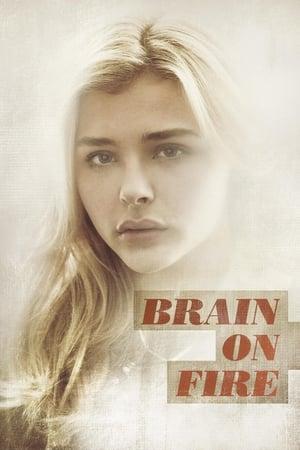 Lángoló agy poszter