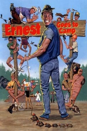 Ernest táborozni megy