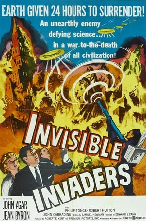 Invisible Invaders poszter