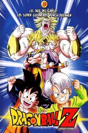Dragon Ball Z 10: Broly második eljövetele poszter
