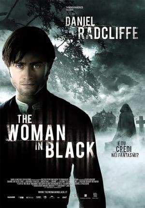 A fekete ruhás nő poszter